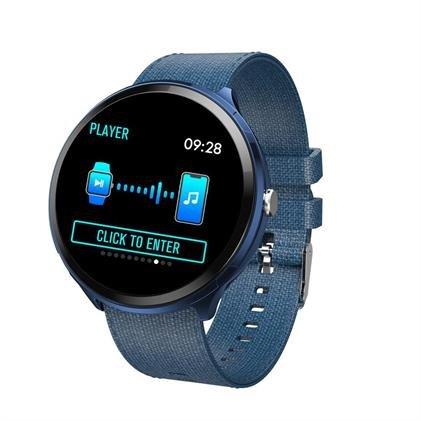V12 smartwatch blue1
