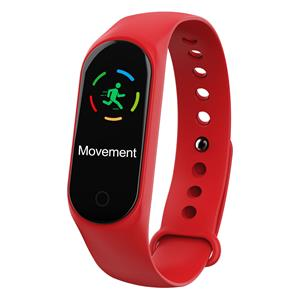 M4S smart band red 3