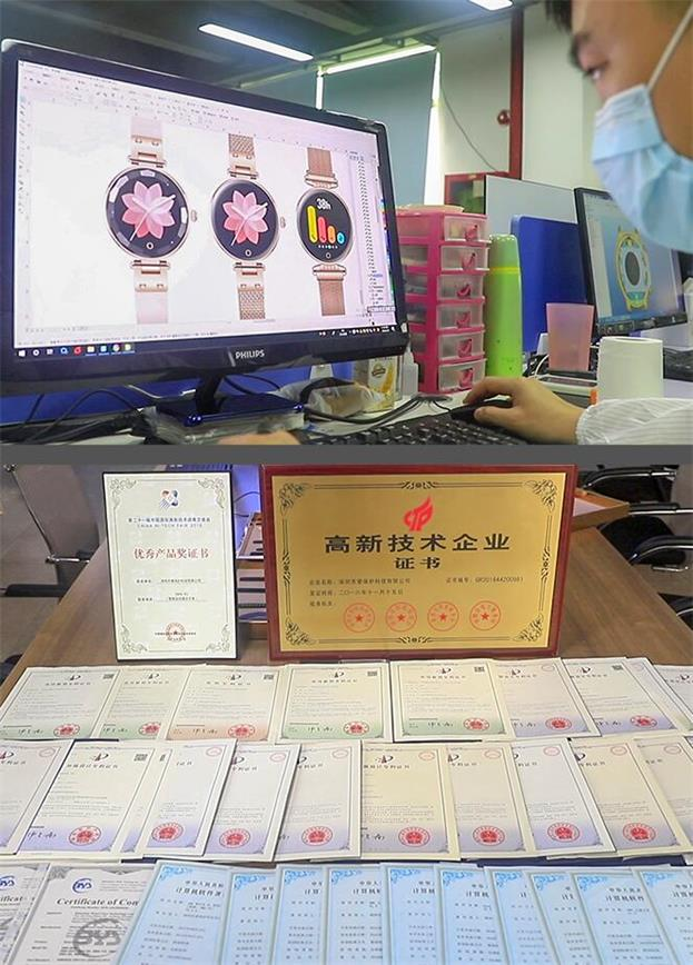 Our Patent & certification